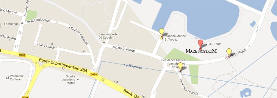 Carte d'accès à nos bureaux sur le port